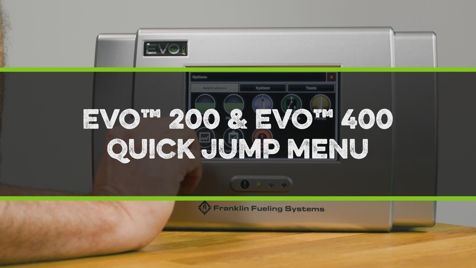 FFS Pro EVO 200-400 Quick Jump Menu Video